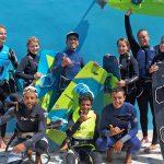 Groupe stage kitesurf