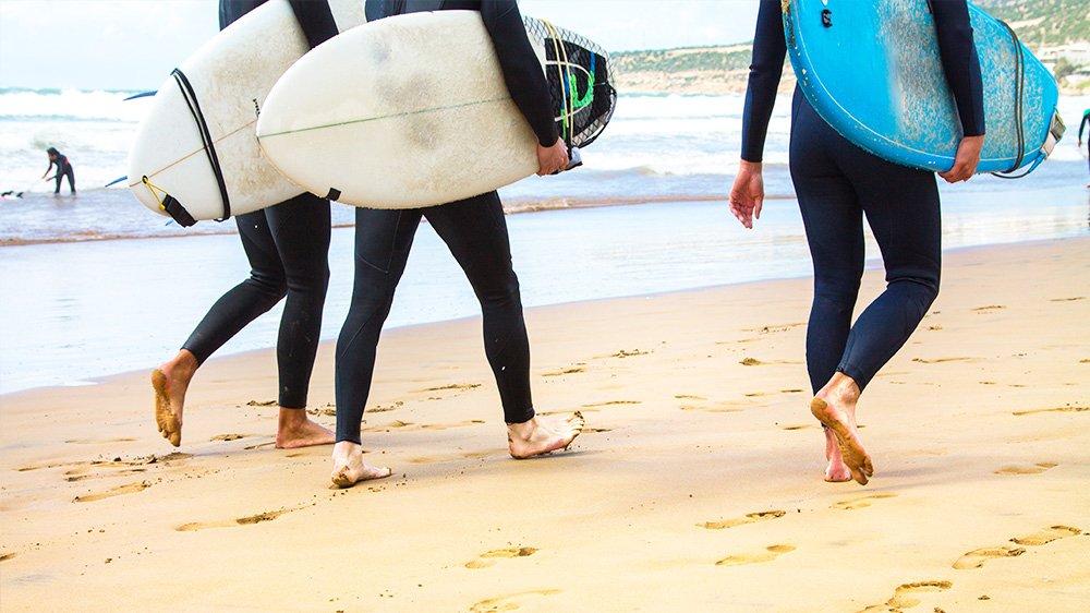 Surf Spot Morocco