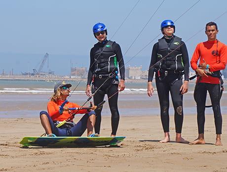 Leçon kitesurf maroc