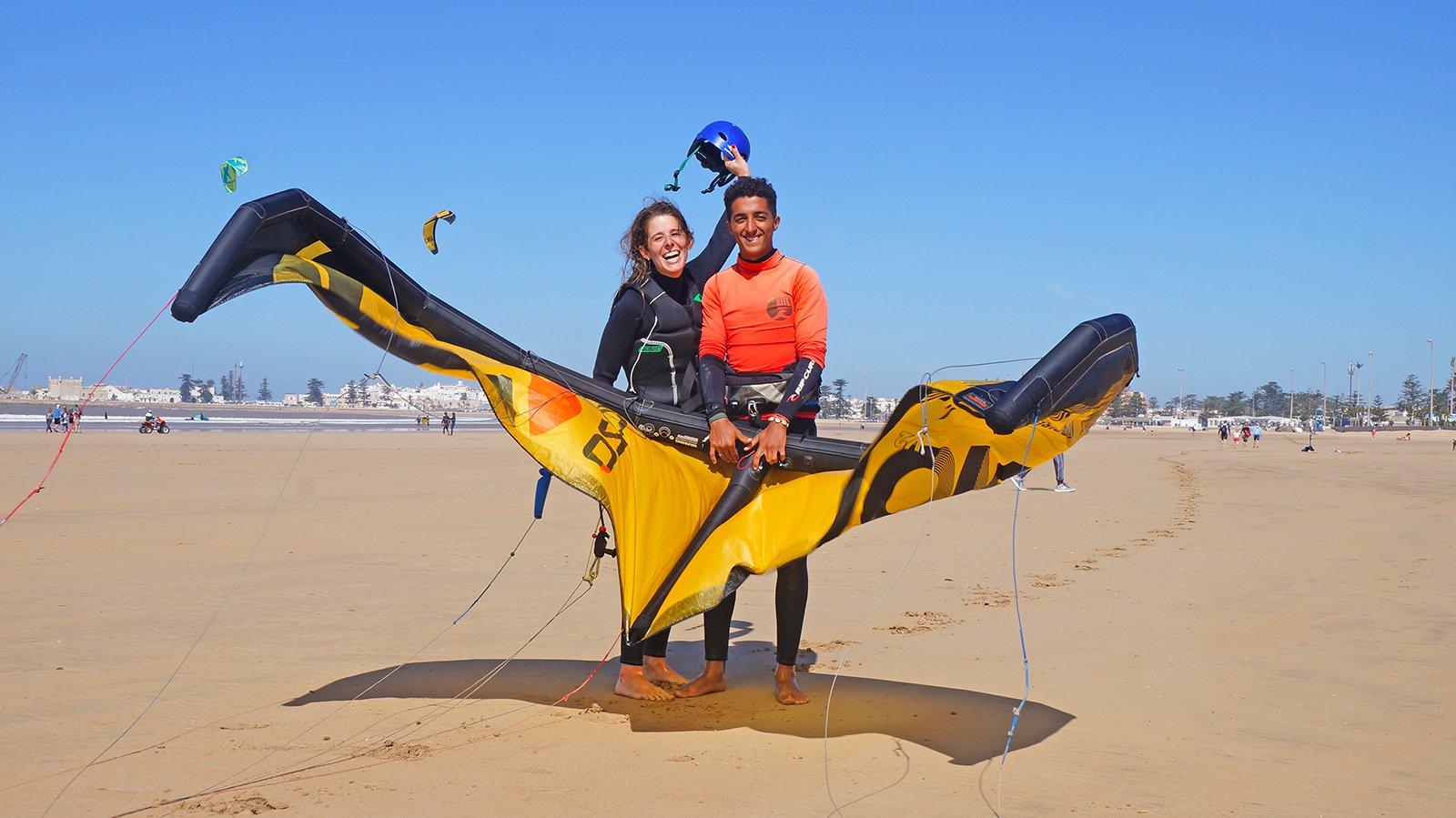 Débuter en kitesurf