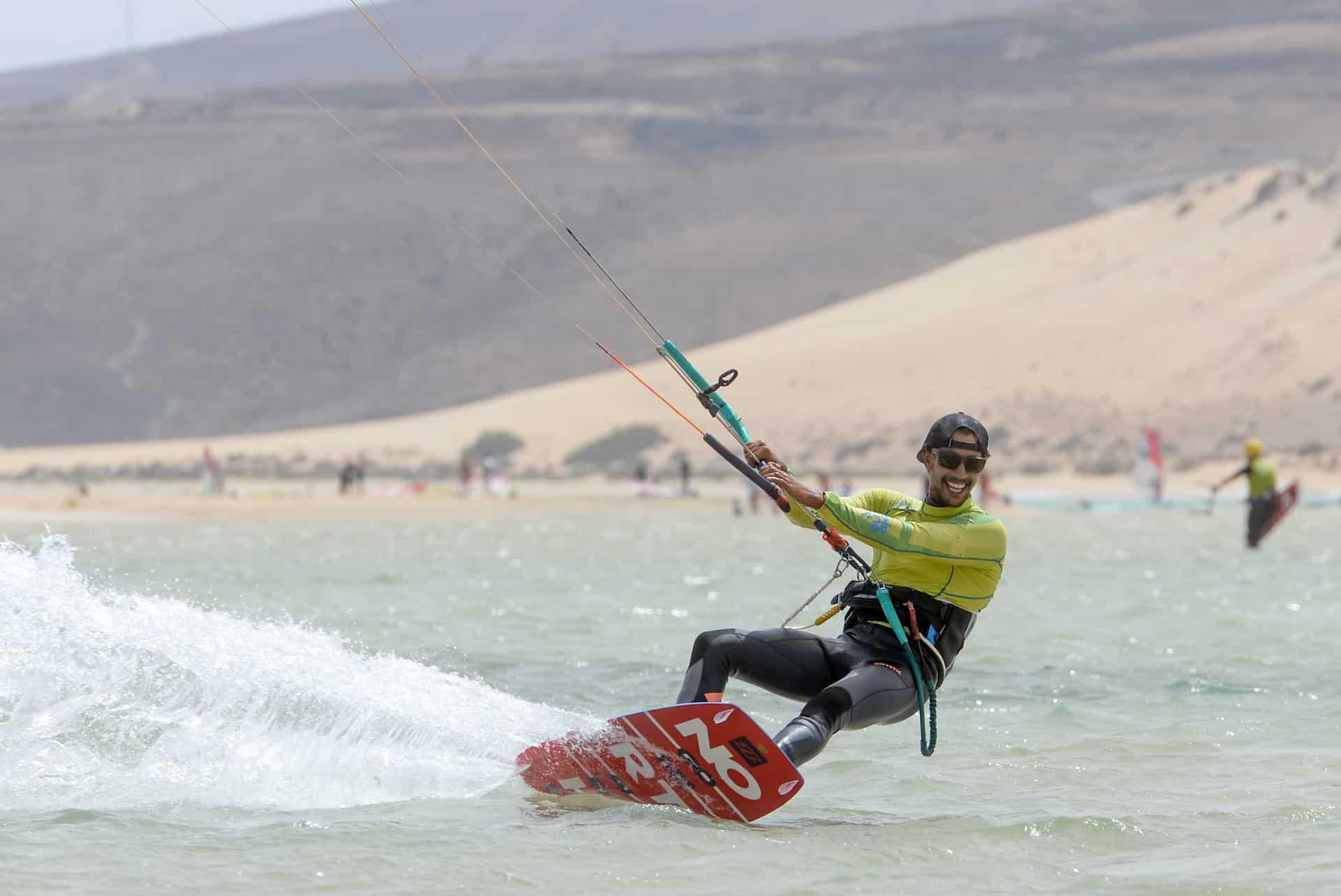 Kitesurf remonter au vent