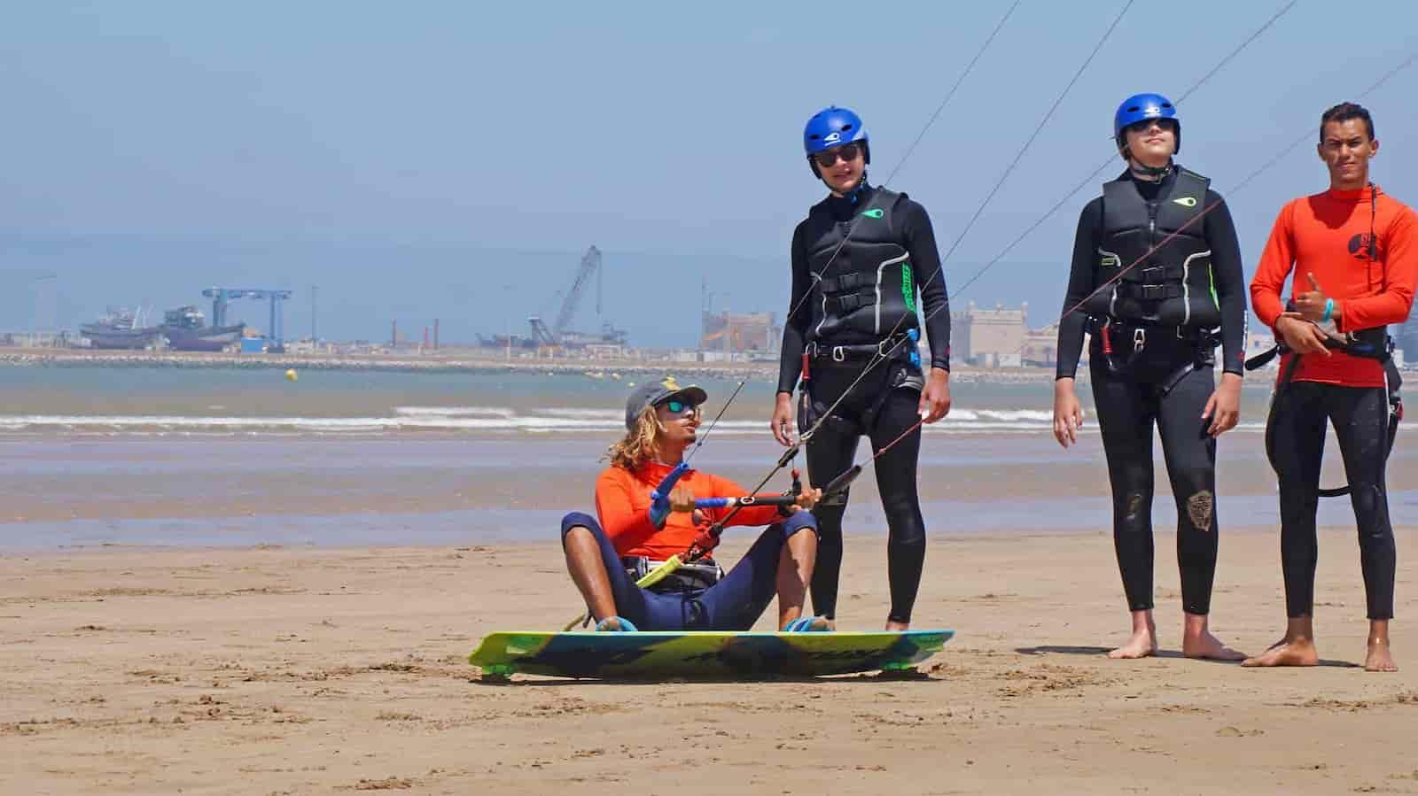 Kitesurf cours débutant
