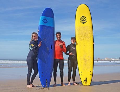 Leçon surf essaouira