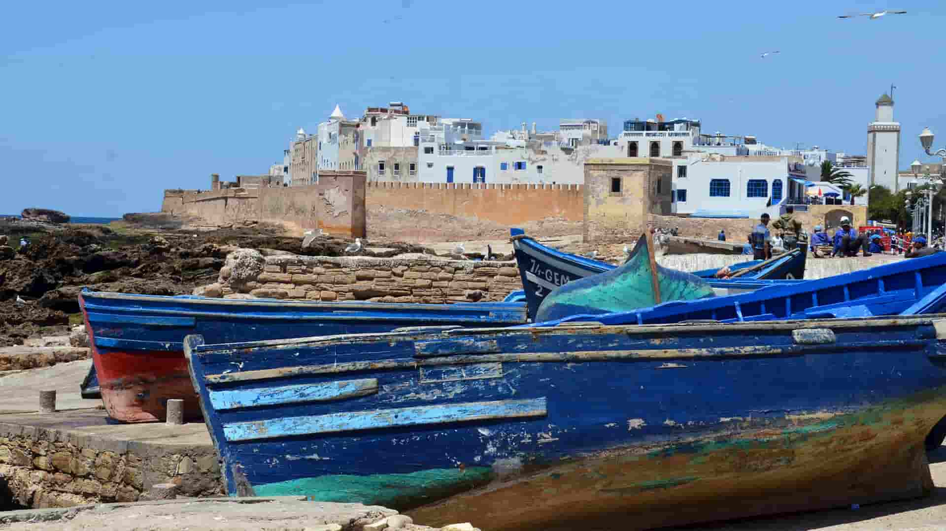 Port de pêche essaouira