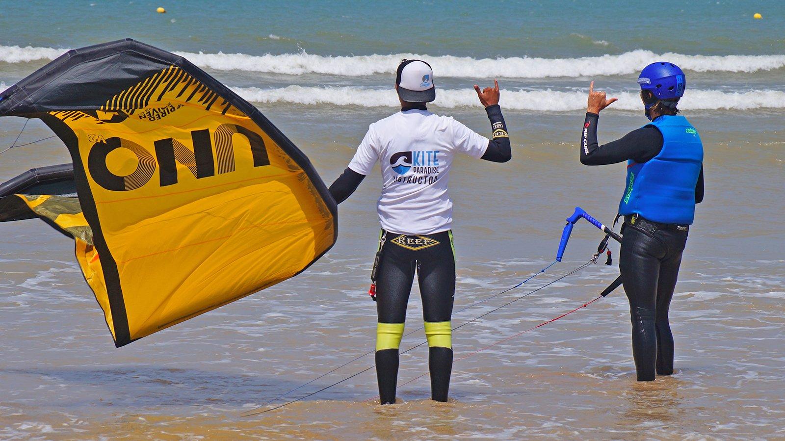 Prix stage kitesurf