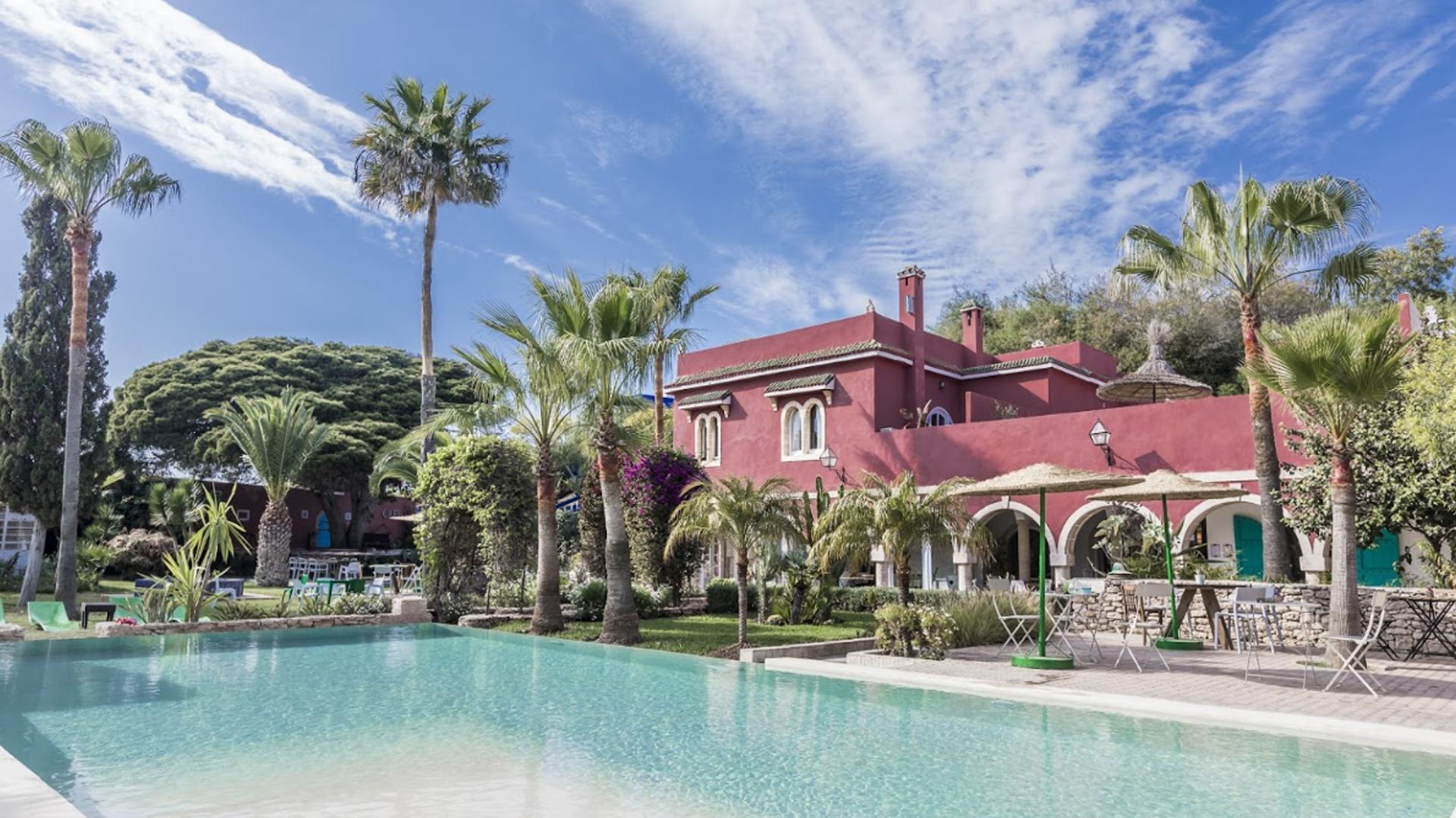 Hotel piscine Essaouira