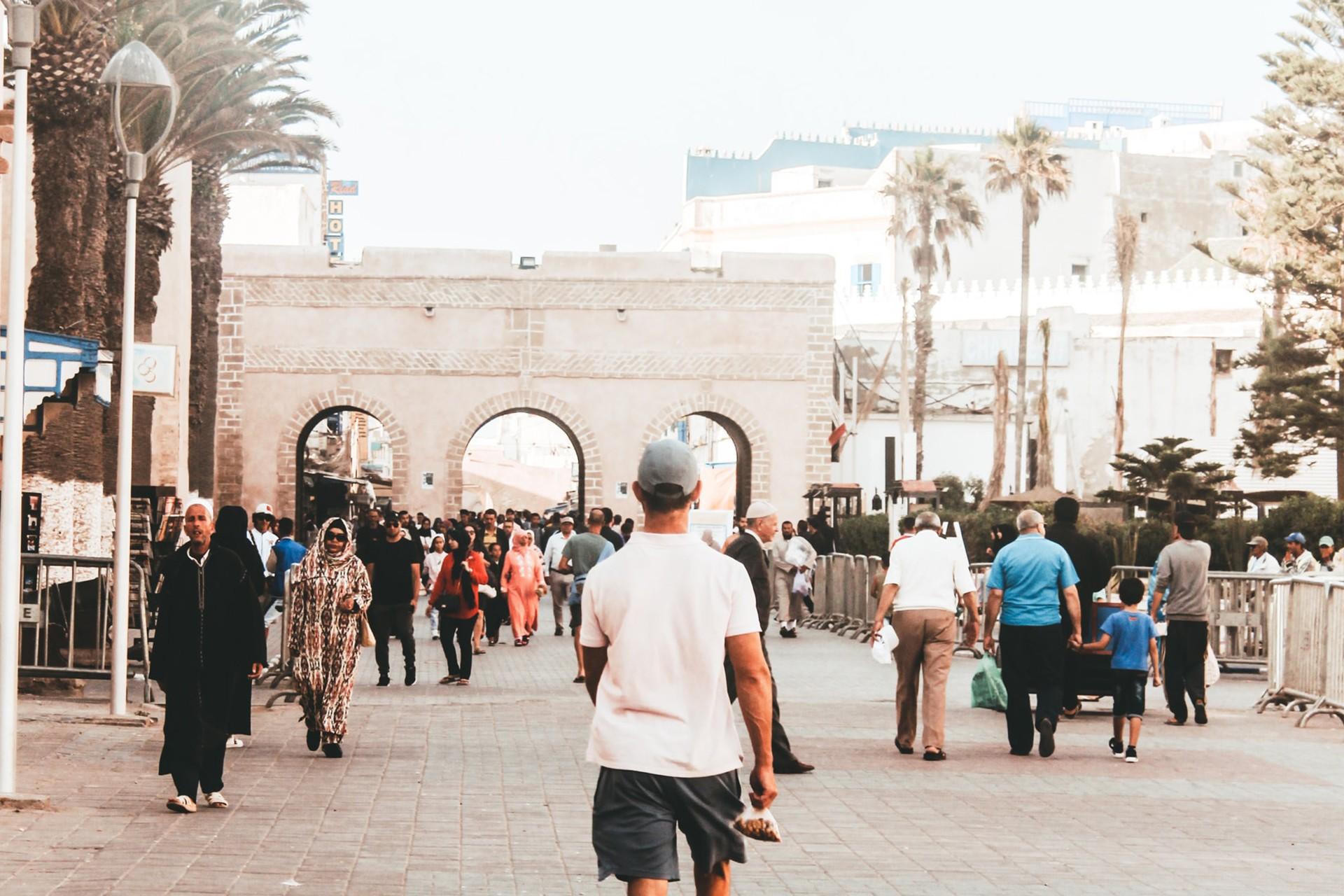 Se déplacer dans Essaouira
