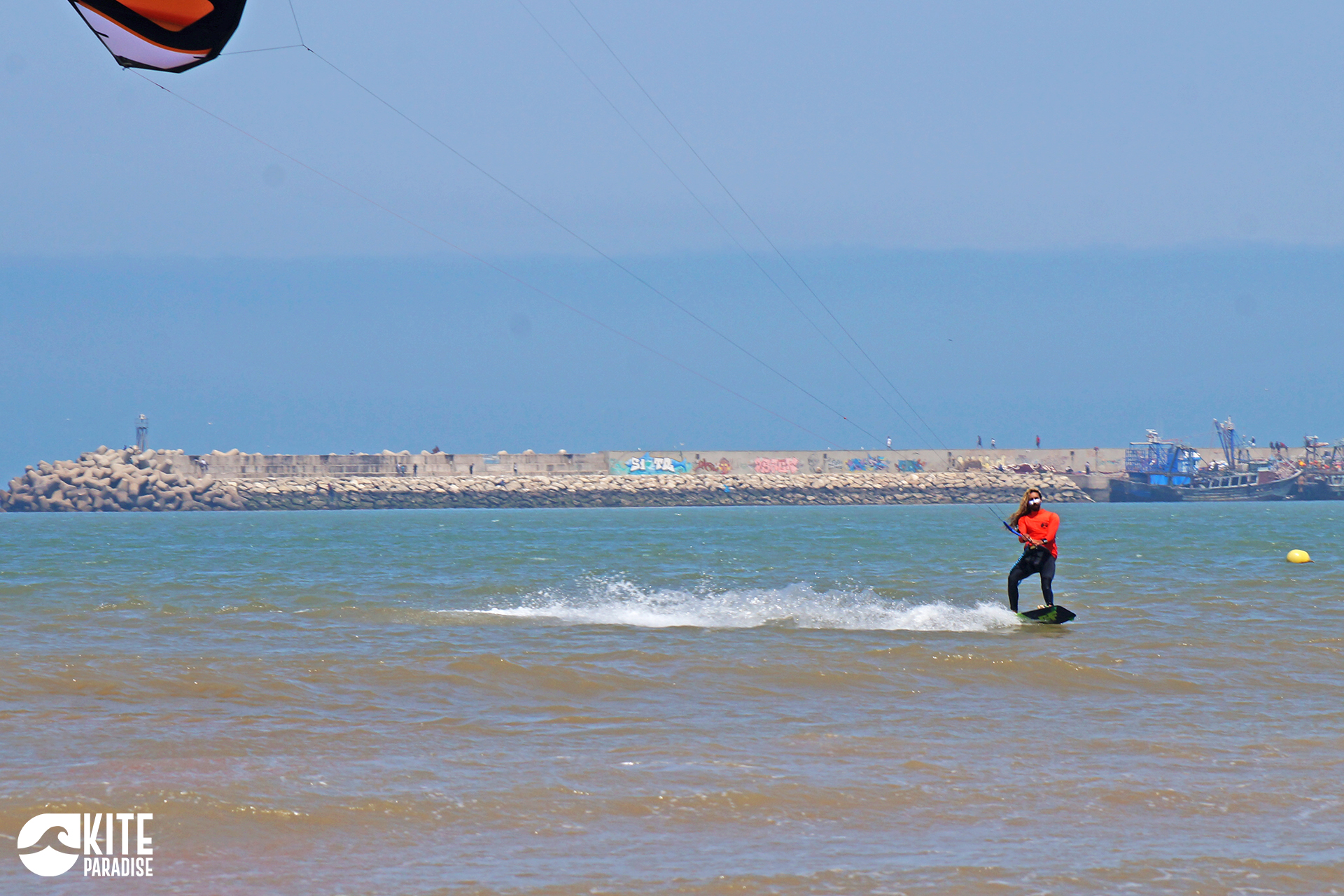Essaouira Baie Kitesurf