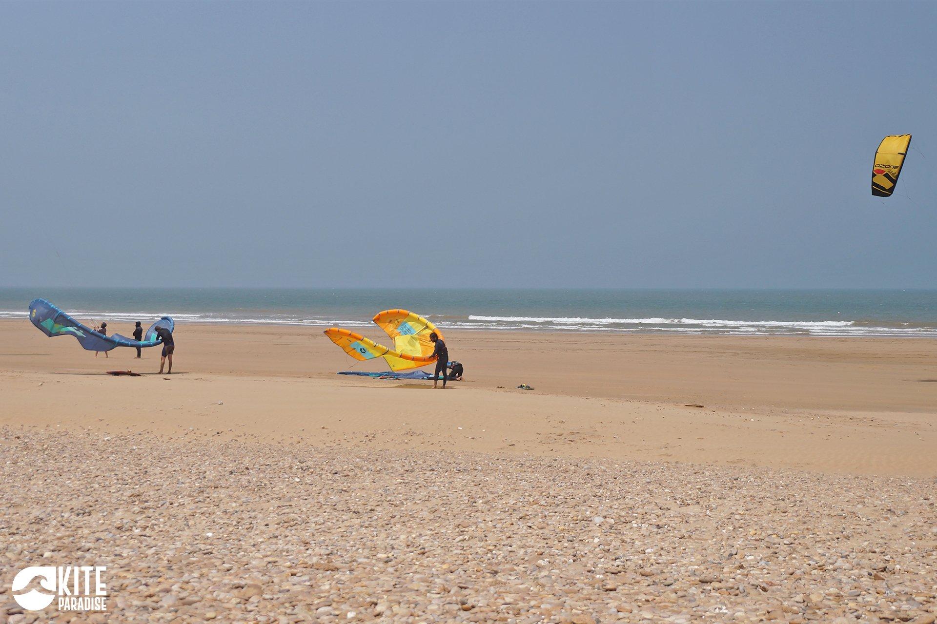Spot de Diabat, une large plage de sable