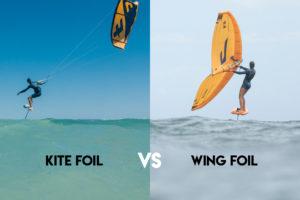 Wingfoil VS Kitefoil : quelle discipline essayer ?