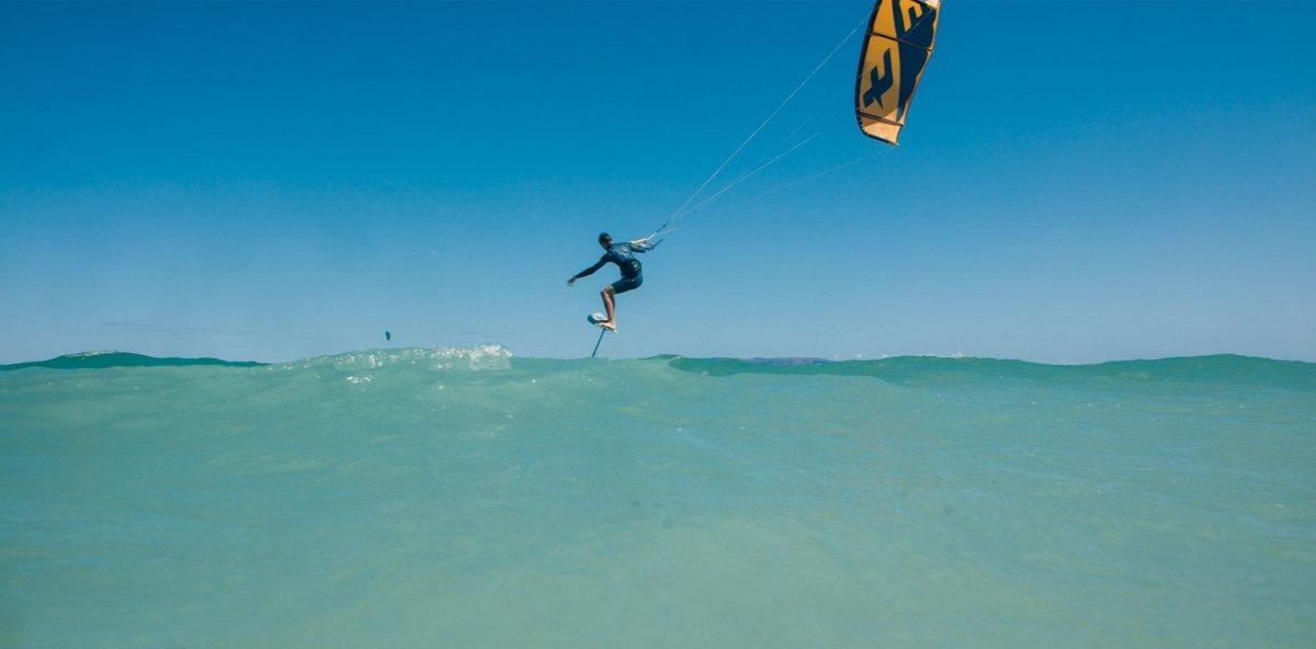 Kitefoil lesson Essaouira